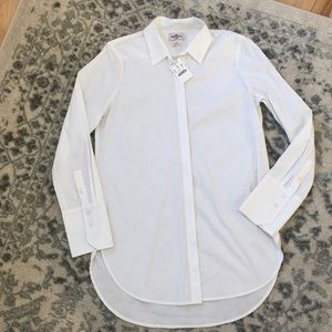 J Crew Tunic Button Up Shirt Blouse